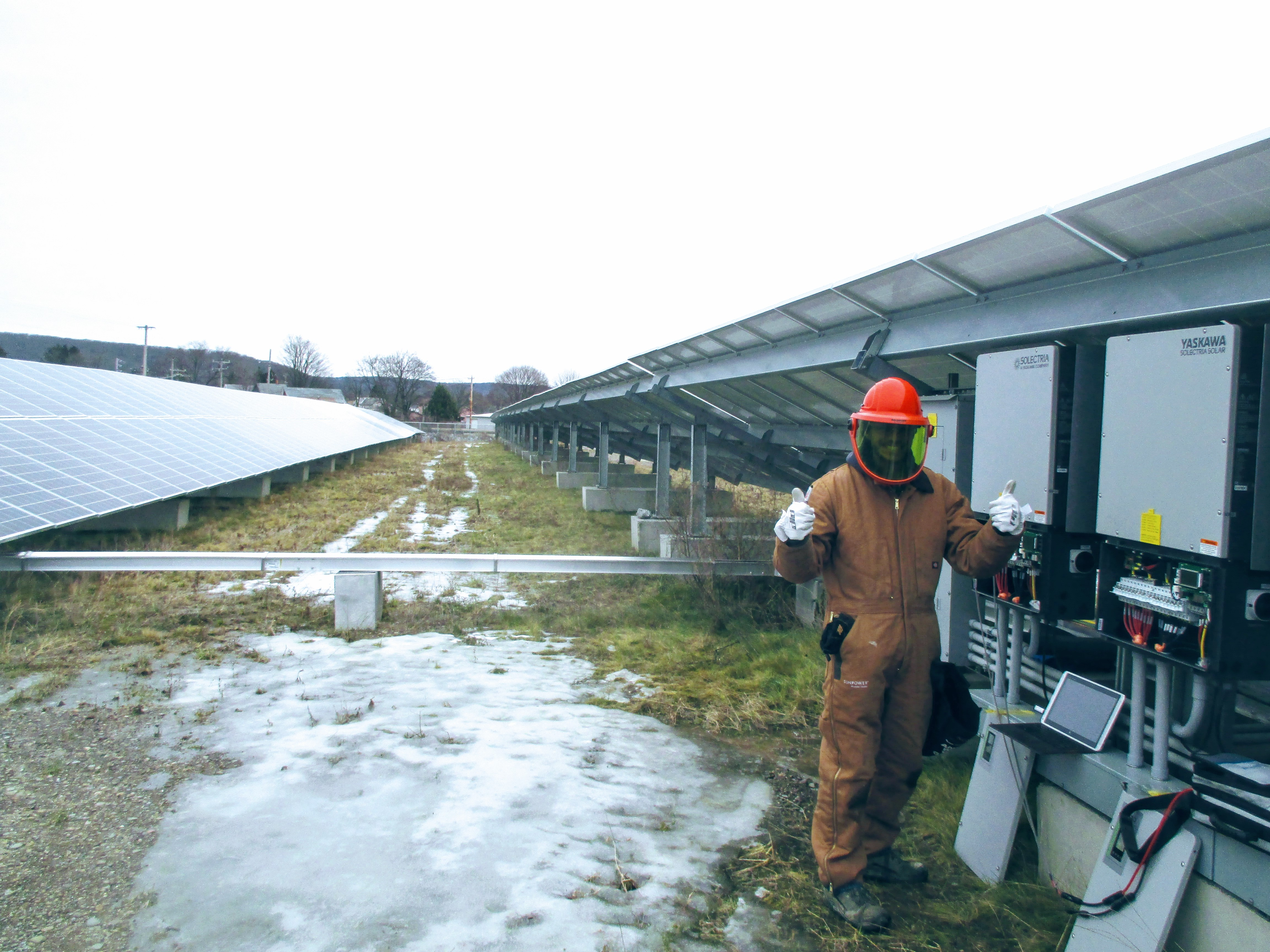commissioning a 7 MW system