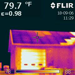 infrared camera ID's a string of nonfunctional modules